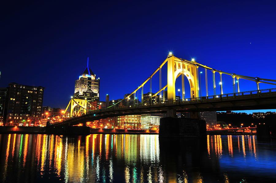 Roberto Clemente Bridge Photograph by Photo By Yohsuke Ikebuchi