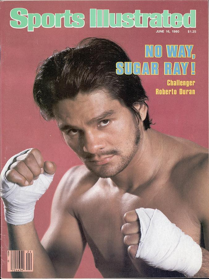 Roberto Duran, Welterweight Boxing Sports Illustrated Cover Photograph by Sports Illustrated