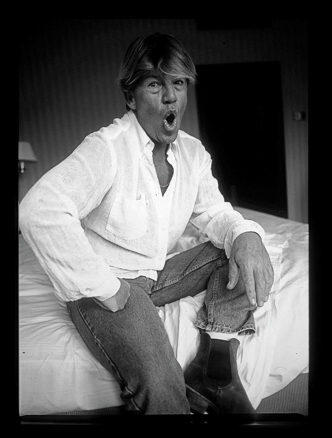 Robin Askwith Actor Confessions Movie Photograph by Martyn Goodacre