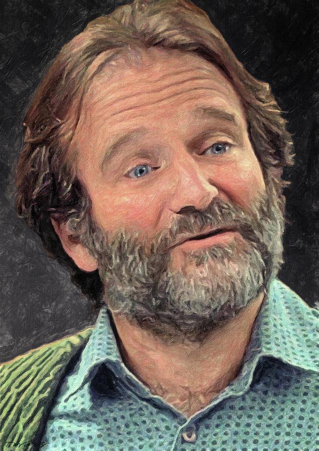 Robin Williams by Zapista Zapista