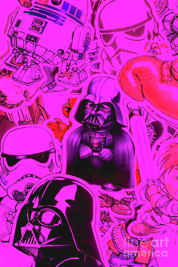 Darth Vader Photograph - Robotic Rebellion by Jorgo Photography - Wall Art Gallery