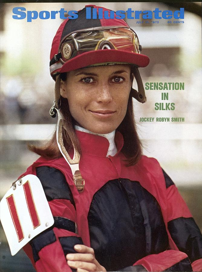 Robyn Smith, Horse Racing Jockey Sports Illustrated Cover Photograph by Sports Illustrated