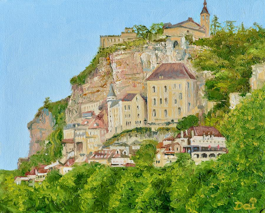 Rocamadour in South Central France by Dai Wynn