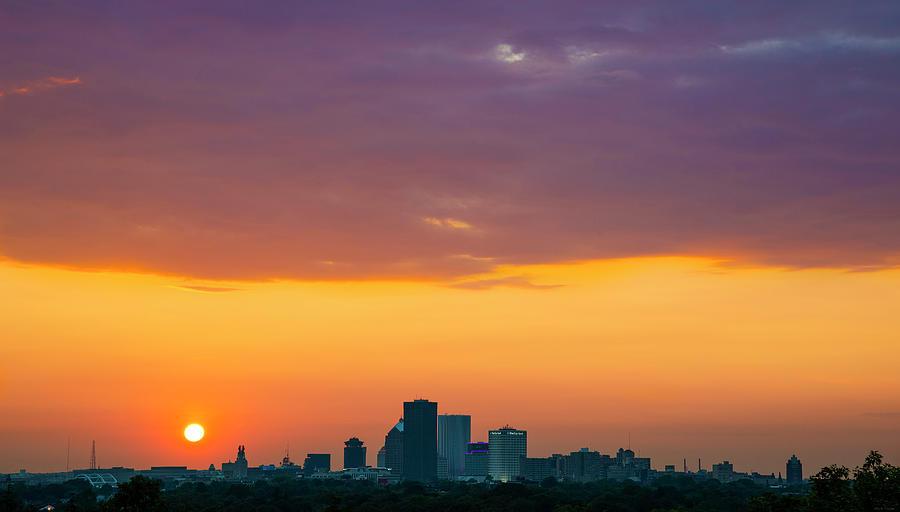 Rochester NY Sunset by Mark Papke