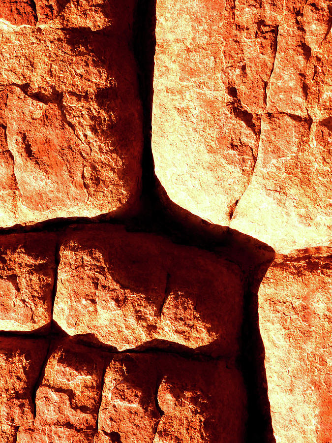 Rock Abstracts of Kings Canyon #1 by Lexa Harpell