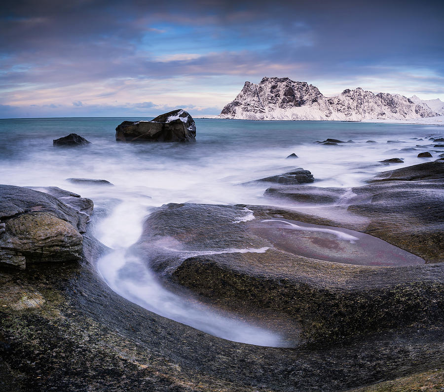 Rock Circle - Panorama by Michael Blanchette