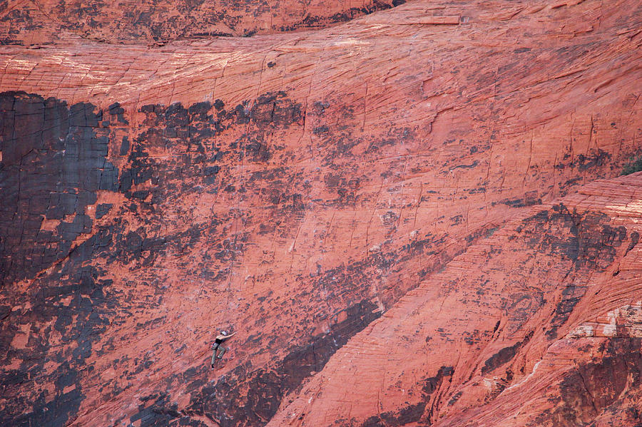 Rock Climber by Brook Burling