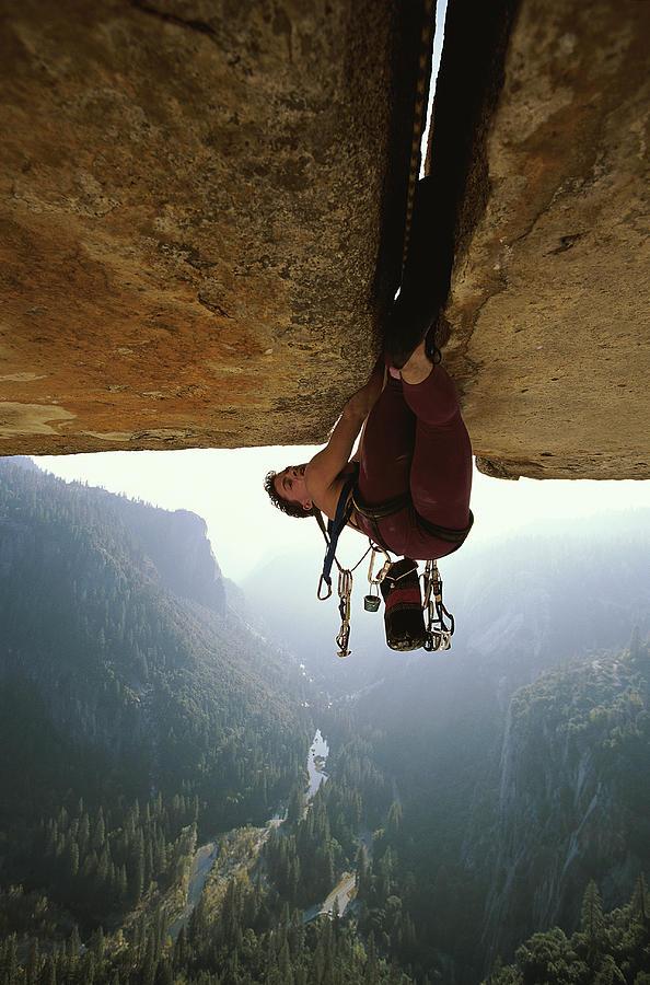 Rock Climbing Photograph by Chris Falkenstein