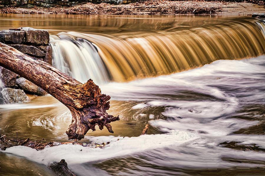 Rock Creek Waterfall - Washington by Stuart Litoff