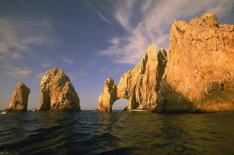 Rock Formations, Cabo San Lucas, Mexico Photograph by Walter Bibikow