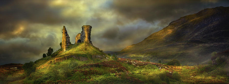 Rock Formations In Rural Landscape Photograph by Chris Clor