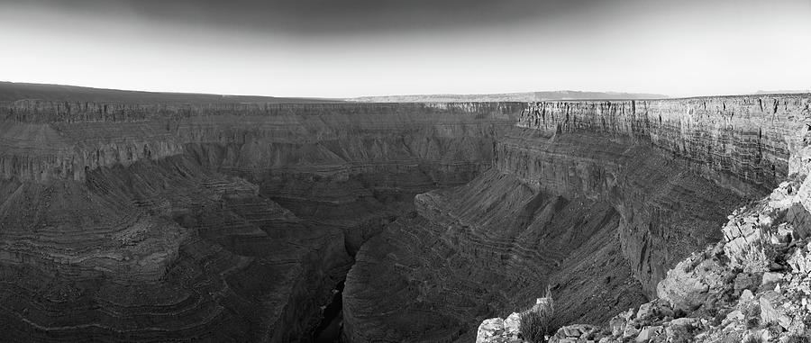 Horizontal Photograph - Rock Formations On The Edge by Panoramic Images