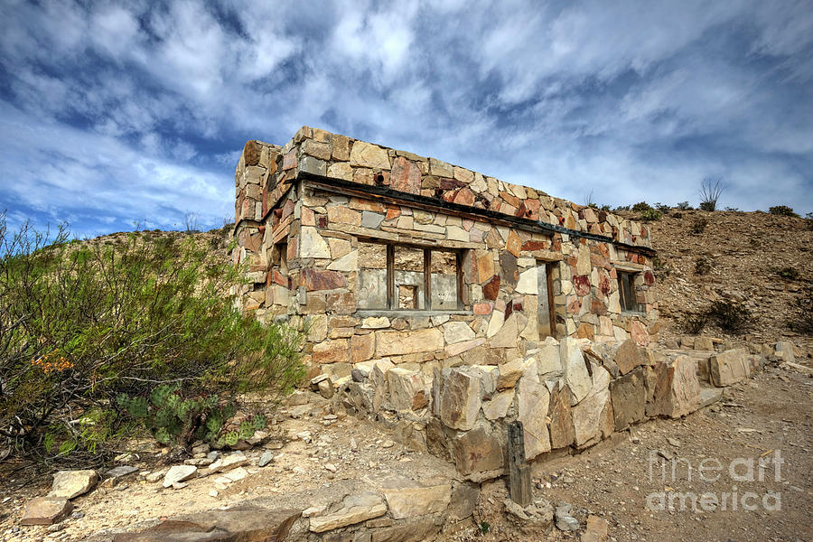 Rock Photograph - Rock House by Joe Sparks