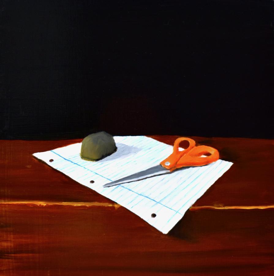 Rock, Paper, Scissors by Emily Warren