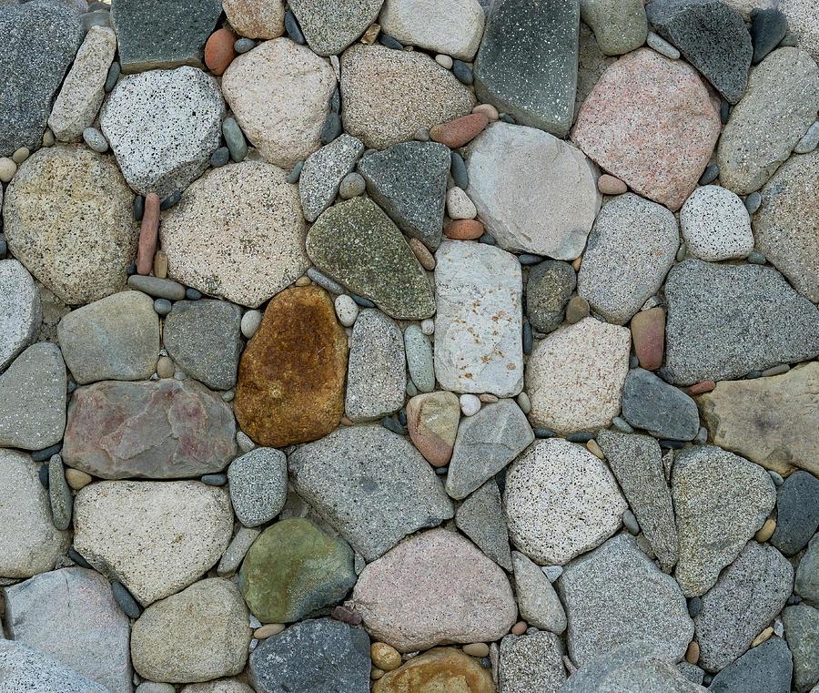 Rock Wall Pattern by Jean Noren