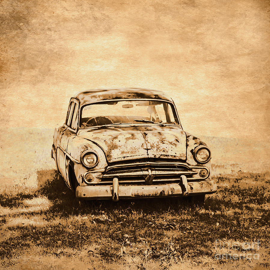 Old Photograph - Rockabilly Relic by Jorgo Photography - Wall Art Gallery