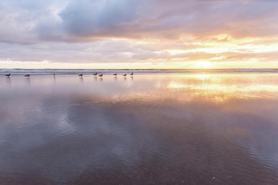 Rockaway Beach Sunset-June 2019 by Johanna Froese