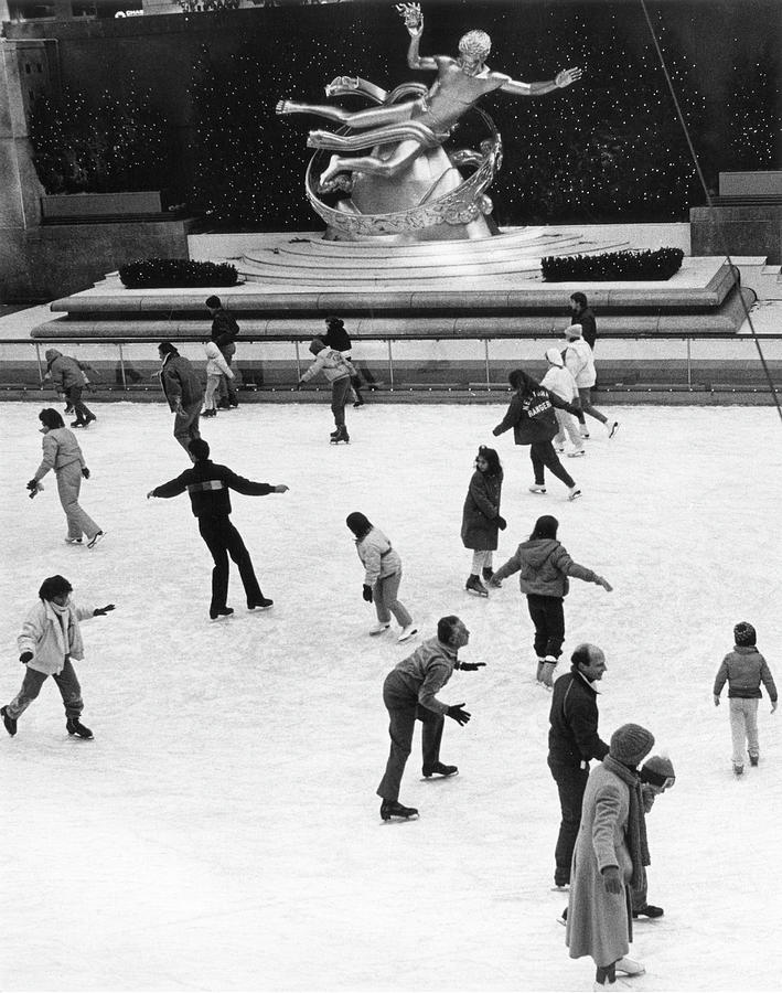 Rockefeller Center Photograph by The New York Historical Society