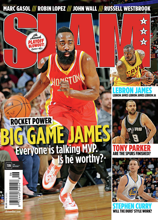 Rocket Power: Big Game James SLAM Cover Photograph by Getty Images