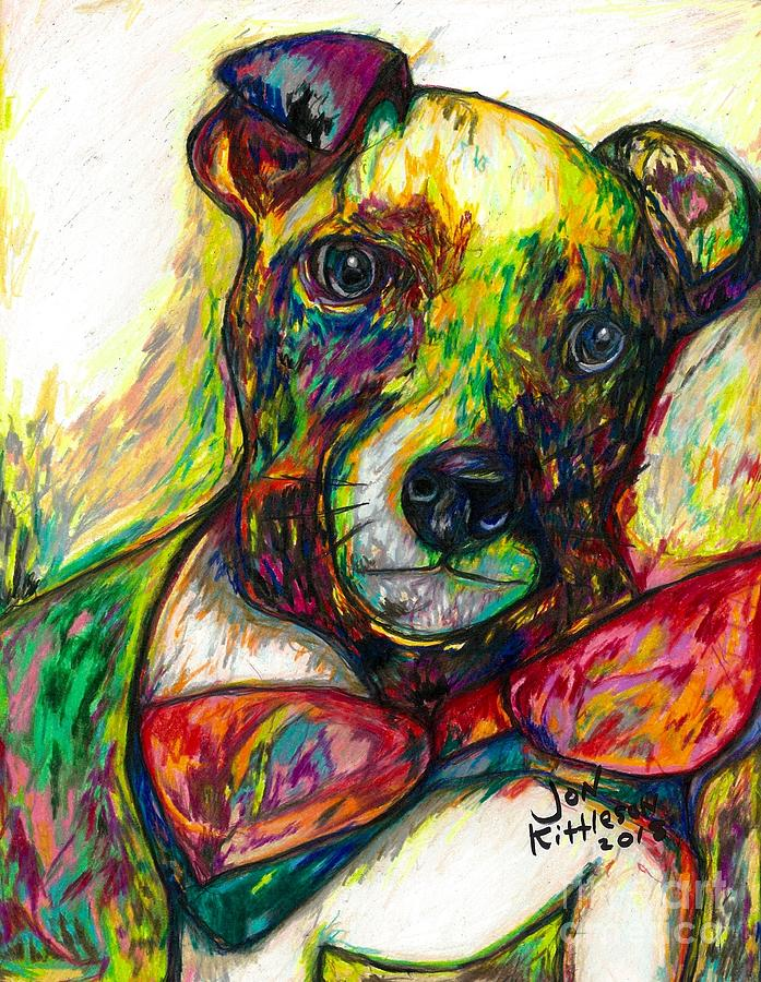 Rocket the dog by Jon Kittleson