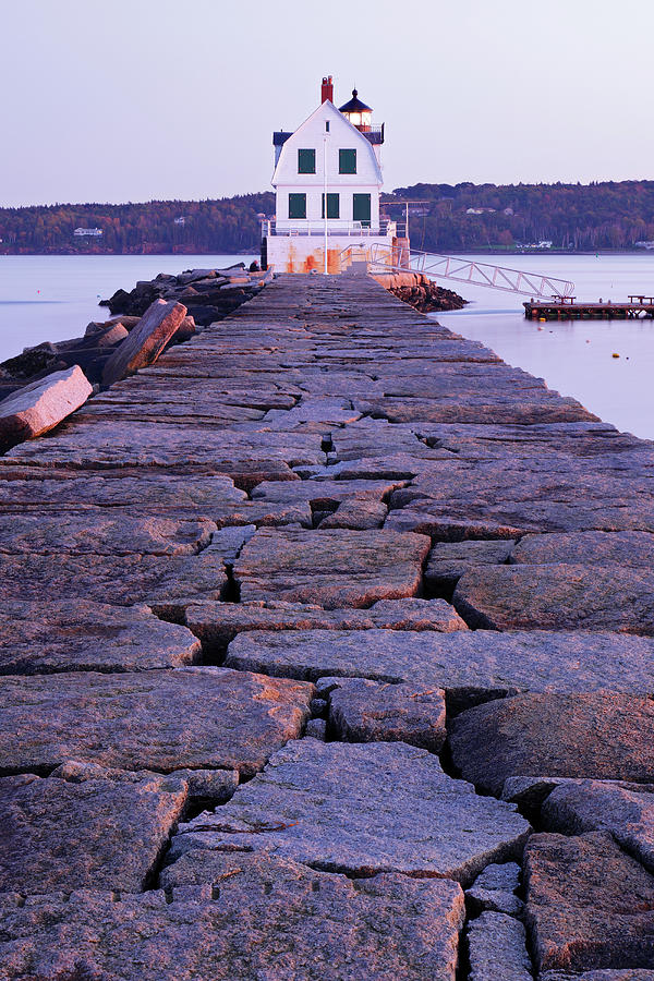 Rockland Breakwater Lighthouse Photograph by S. Greg Panosian