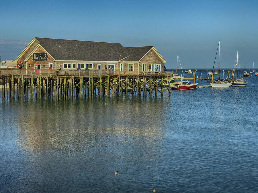 Rockland Harbor  by Pamela Hodgdon
