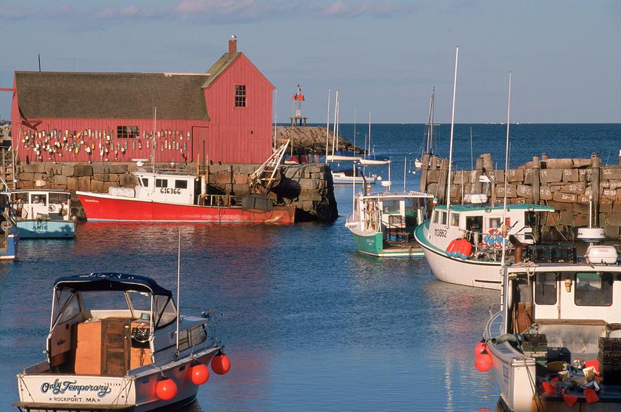 Rockport Harbor, Cape Ann, Massachusetts Photograph by Stephen Saks