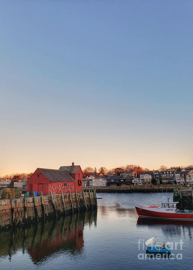 Rockport Photograph - Rockport Massachusetts  by Mary Capriole