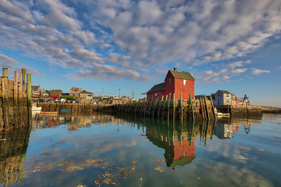 Rockport on Cape Ann Massachusetts by Juergen Roth