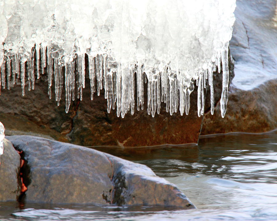 Rocks and Icicles by Arvin Miner
