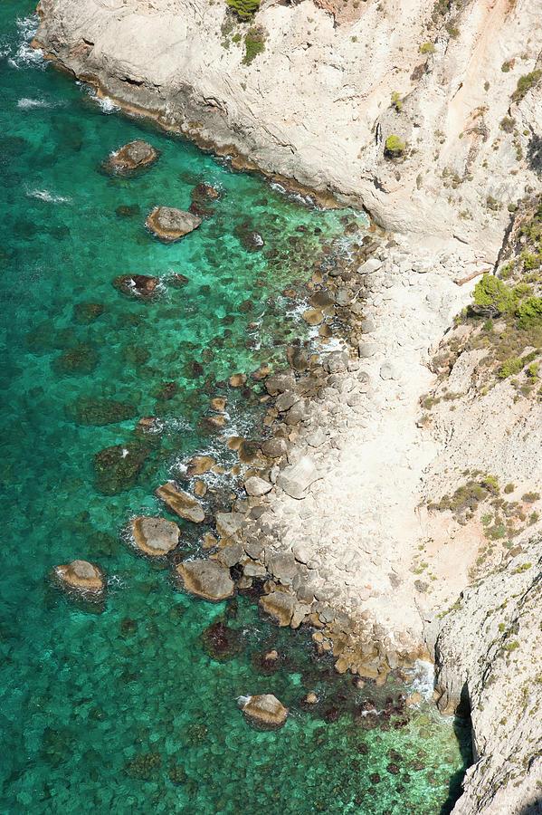 Rocks and sea by Anna Kluba