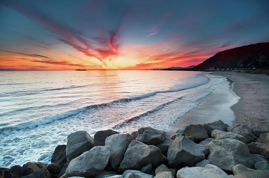 Rocks On Sea Photograph by John B. Mueller Photography