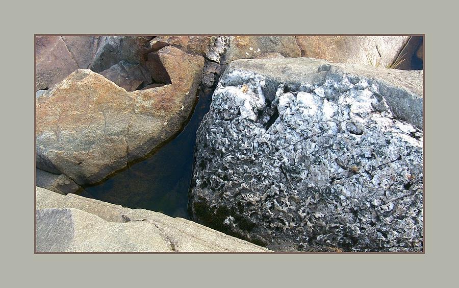 Earthy Photograph - Rocks2 by David Wilde