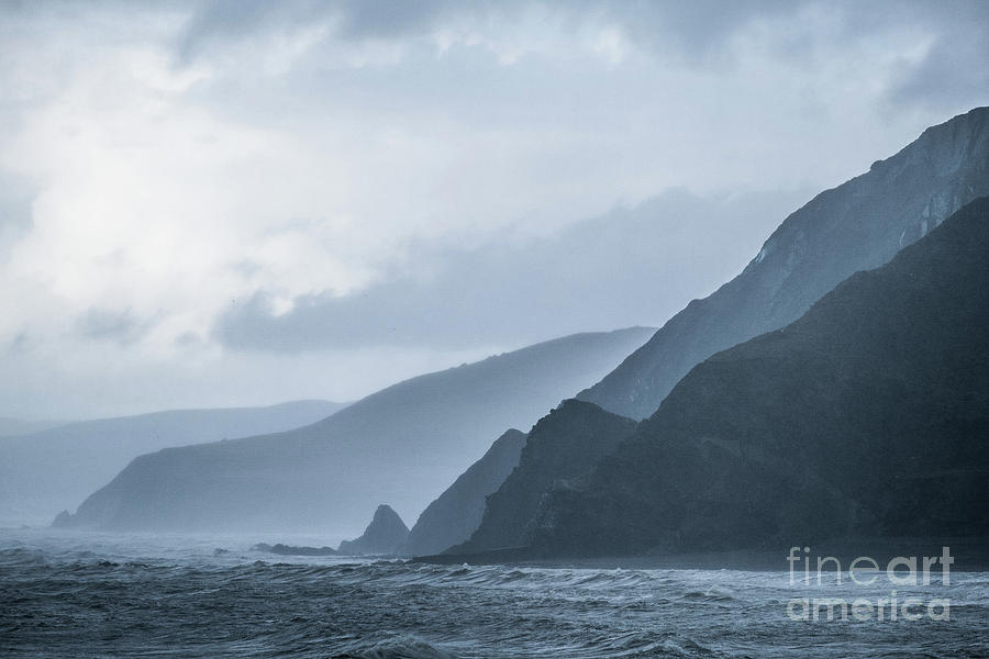 Coast Photograph - Rocky Coastline In West Wales by Keith Morris