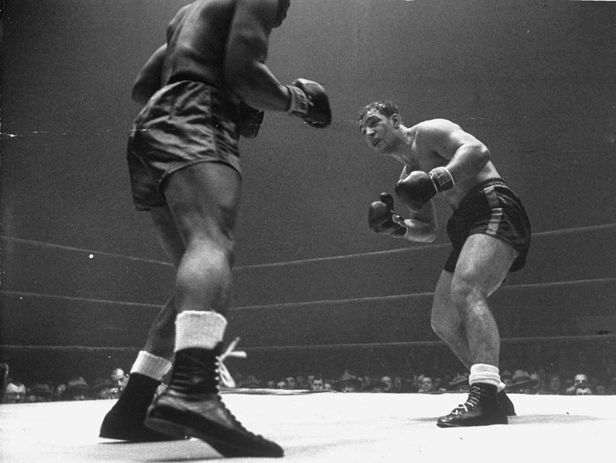 Rocky Marciano Photograph by Eliot Elisofon