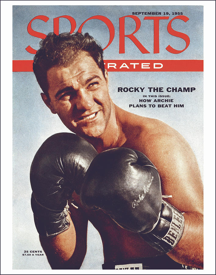 Rocky Marciano, Heavyweight Boxing Sports Illustrated Cover Photograph by Sports Illustrated