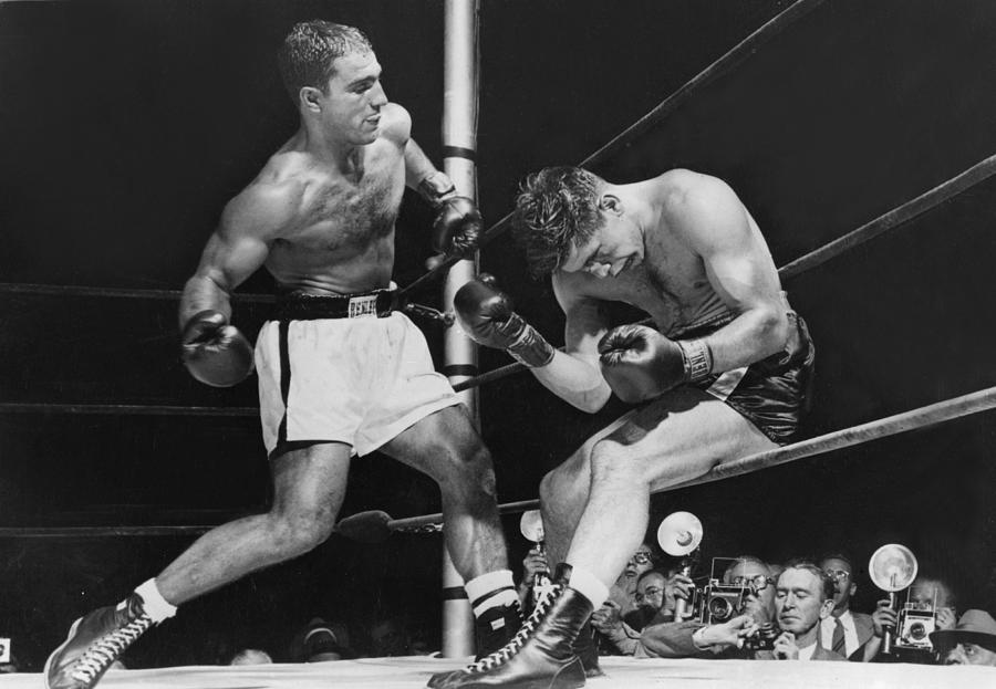 Rocky Marciano Photograph by Keystone