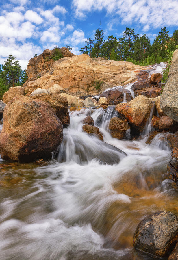 Rocky Mountain Flow Photograph