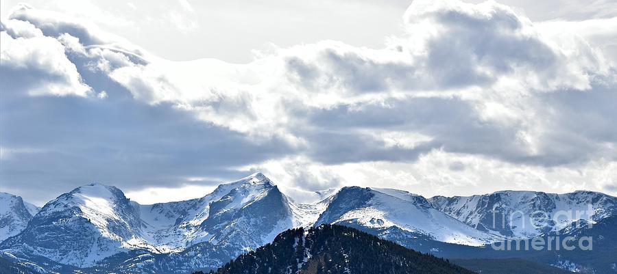 Rocky Mountain Peaks by Dorrene BrownButterfield