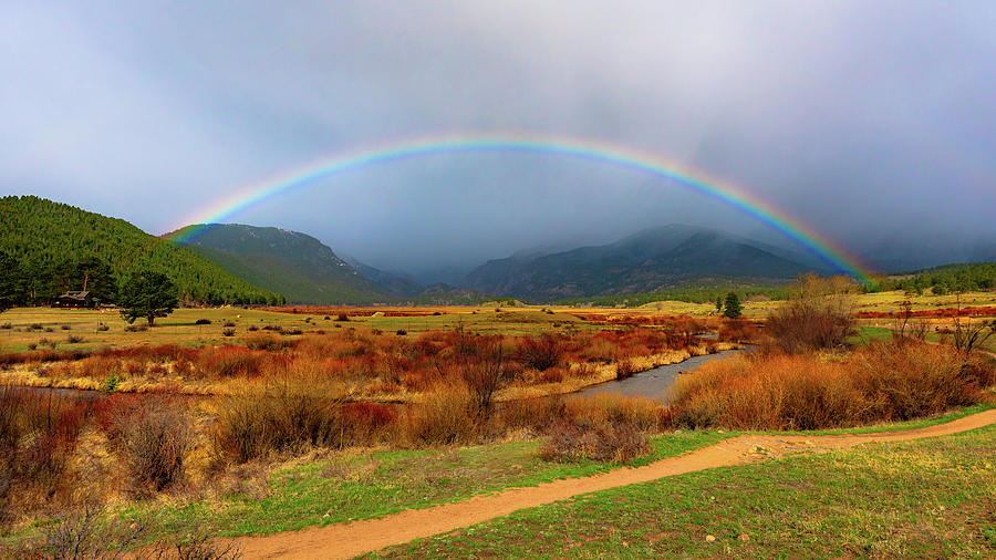 Rocky Mountain Rainbow by Gary Kochel
