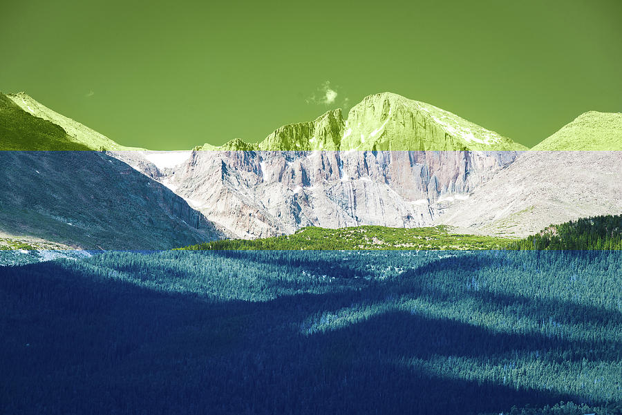 Rocky Mountain Stripes by Sonja Quintero