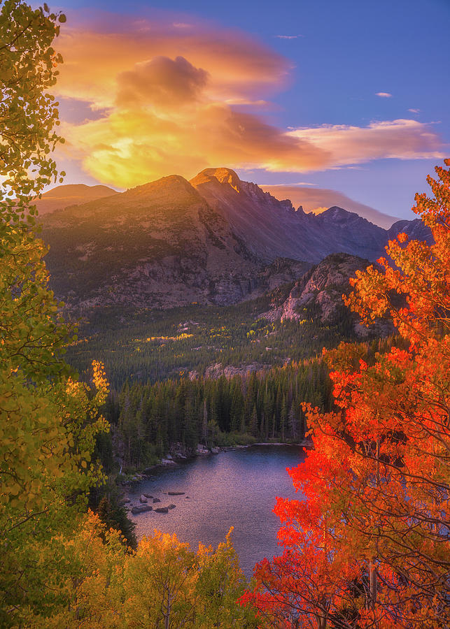 Rocky Mountain Sunrise by Darren White