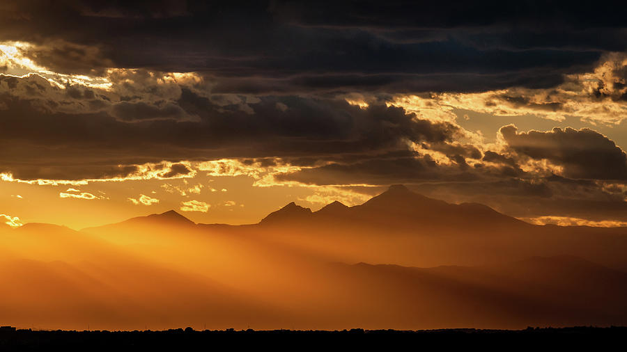 Rocky Mountain Sunset by Todd Henson