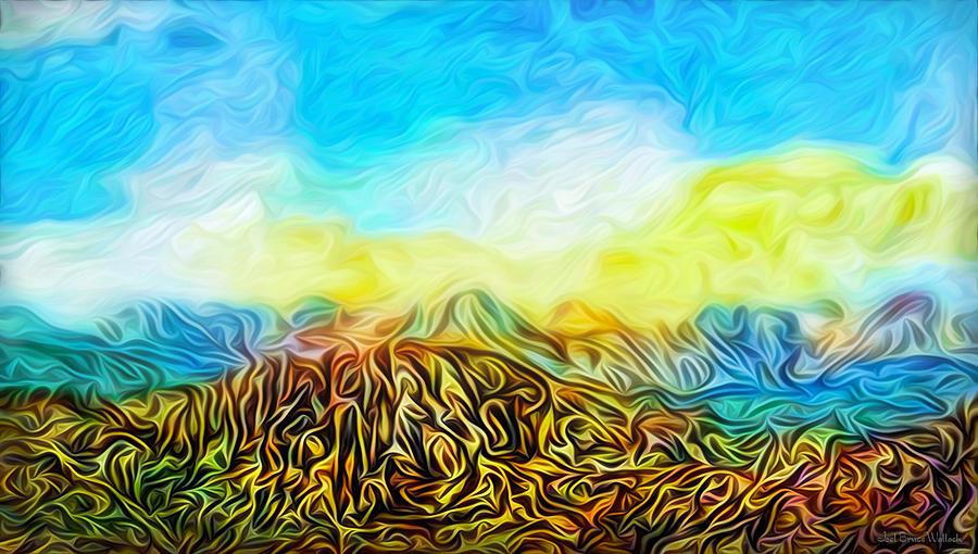 Rocky Mountain Vista by Joel Bruce Wallach