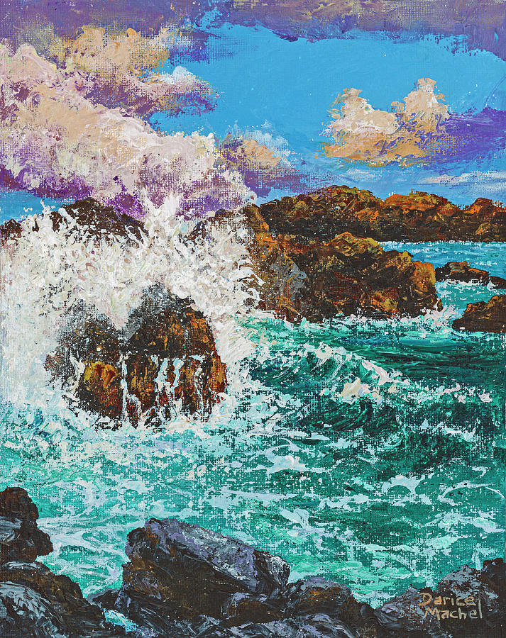 Rocky Splash by Darice Machel McGuire