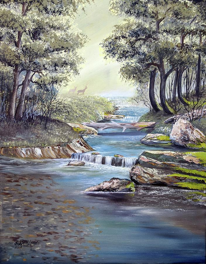 Rocky Stream by Deleas Kilgore