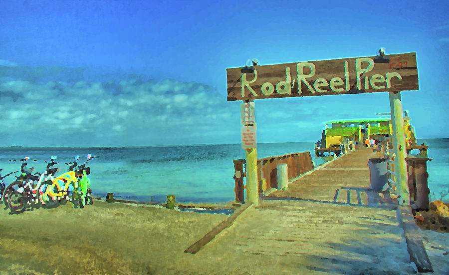 Rod and Reel Pier by Jolynn Reed