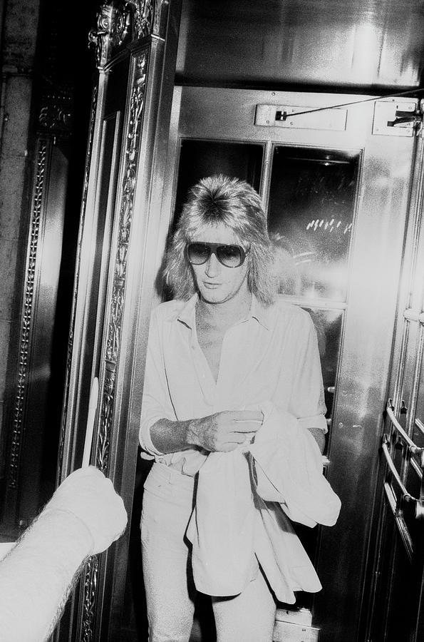Rod Stewart Photograph by Art Zelin