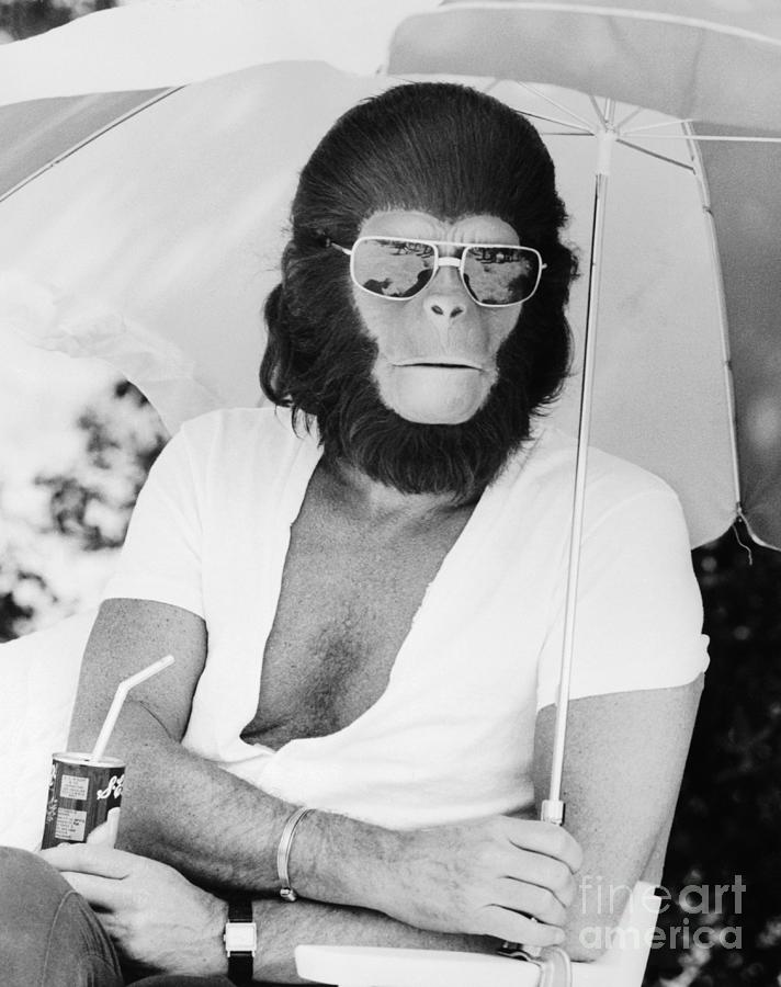 Roddy Mcdowall In Costume For Planet Photograph by Bettmann