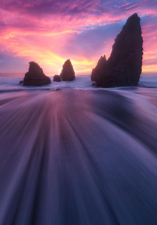 Rodeo Beach, San Francisco, California, Usa Photograph
